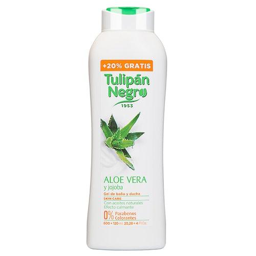 Tulipan Negro Aloe Vera och jojoba Shower gel