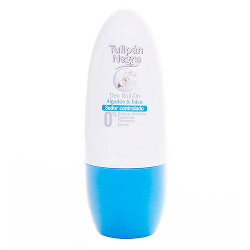 Tulipan Negro  Cotton & Talc Deo Roll-on
