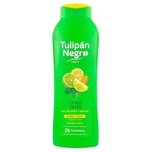 Tulipan Negro shower gel Citrus Green