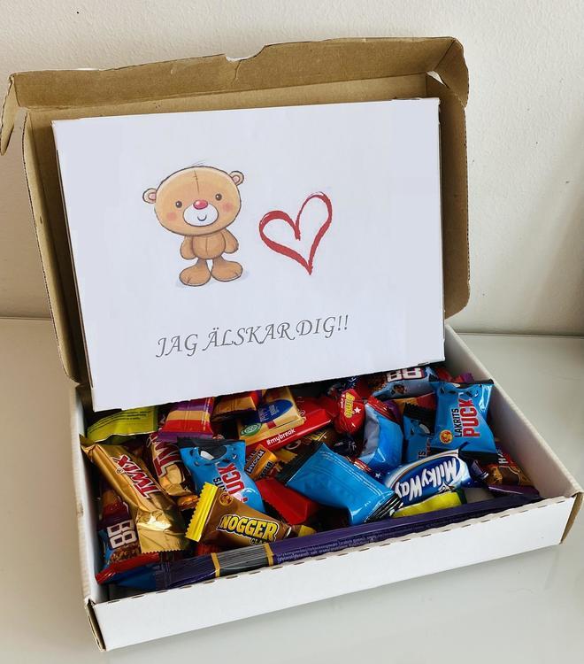 Jag älskar dig boxen