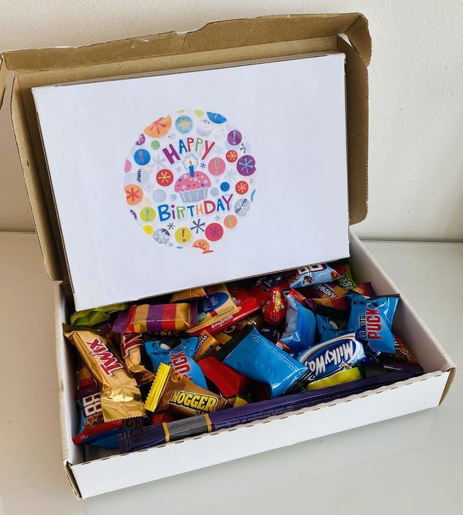 Grattis box