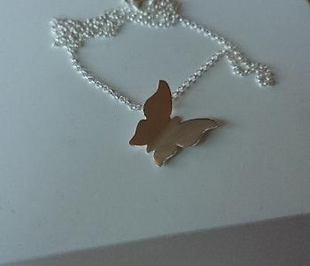 Halsband 'Fjäril'