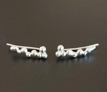 Örhängen i argentium silver 935