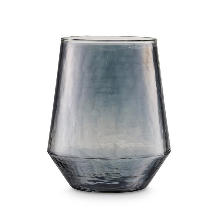H.Skjalm P. Luster Tealight Holder Grey Ø12 cm