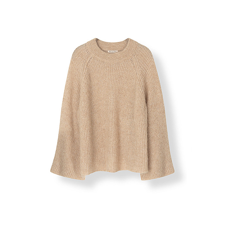 Sweater for women with 3/4 length sleeve