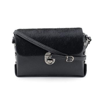 Style Urbanized Milano Black Handbag