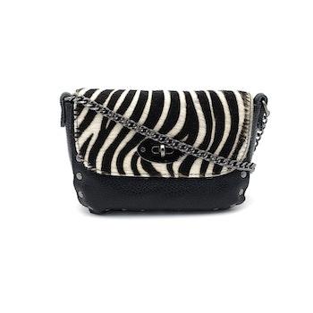 Style Urbanized Firenze Zebra Print Handbag