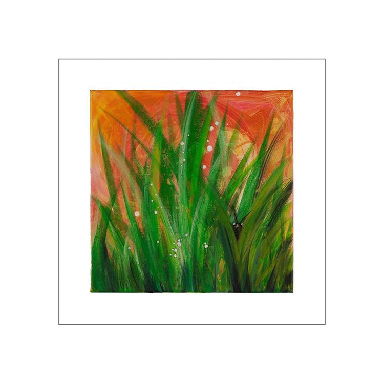 Ingela Dahlgren Gardentroll Art Print