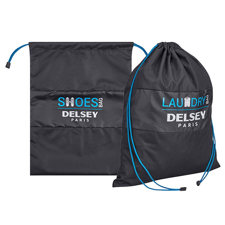 Delsey Set of Shoe and Laundry Bag