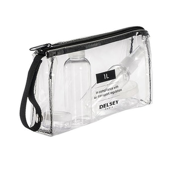 Delsey Transparent Toiletry Bag