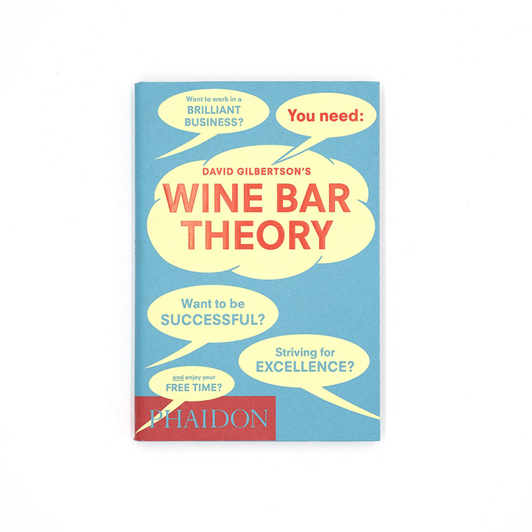 Phaidon Wine bar theory book