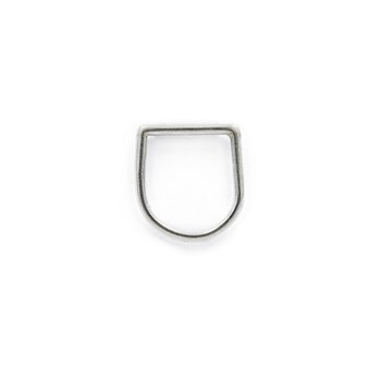 Clare Minimal D Ring Silver