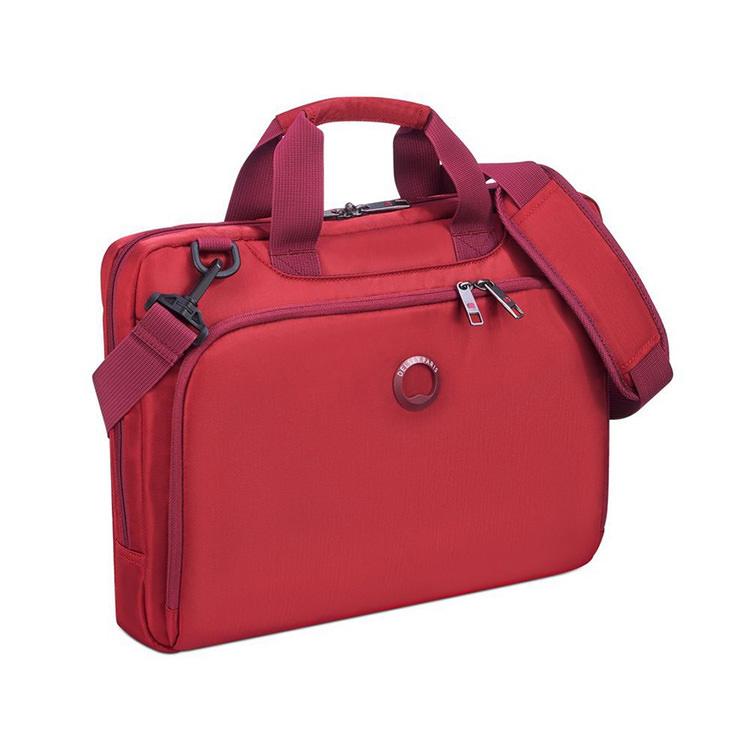 Delsey Esplanade laptop väska röd
