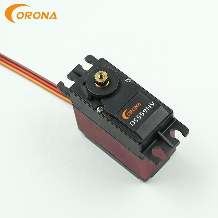 Corona DS559HV 16kg.cm / 20kg.cm, 0.20sec.60º/ 0.18sec.60º