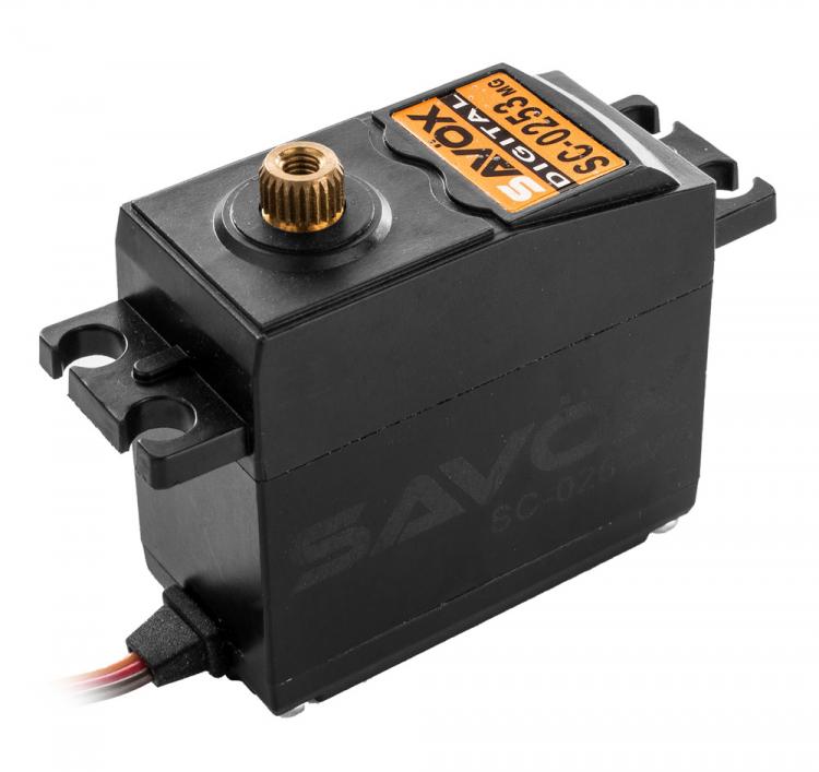 SAVÖXSC-0253MG Servo 6Kg 0,15s Metalldrev