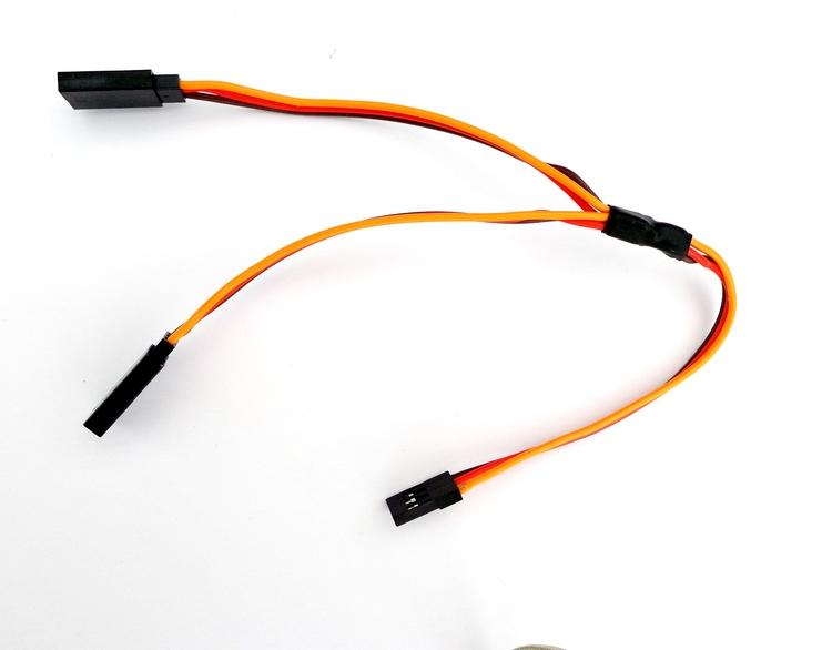 Y-kabel 200mm, Futaba/JR