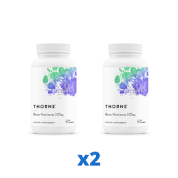 2 x Thorne Basic Nutrients 2/Day, 60 kapslar