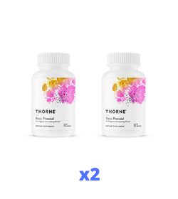 2 x Thorne Basic Prenatal, 90 kapslar