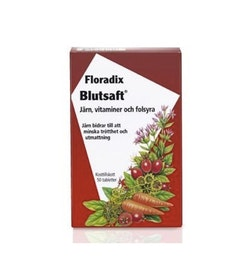 Salus Floradix Blutsaft, 50 tabletter