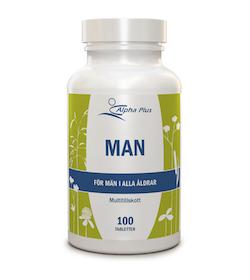 Alpha Plus Man, 100 tabletter