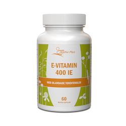Alpha Plus E-vitamin 400IE, 90 tabletter