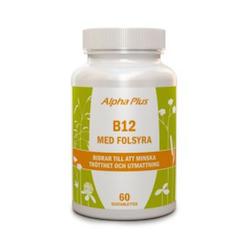 Alpha Plus B12 med Folsyra, 60 tabletter