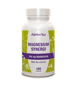 Alpha Plus Magnesium Synergi, 180 kapslar