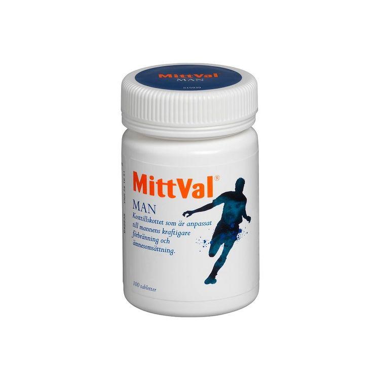 MittVal Man, 100 tabletter