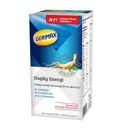 Gerimax Daglig Energi, 200 tabletter