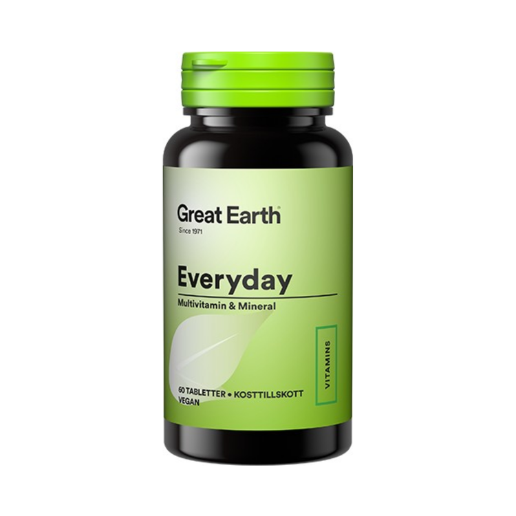 Great Earth Everyday, 60 tabletter