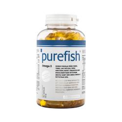 Elexir Purefish Omega-3, 180 kapslar