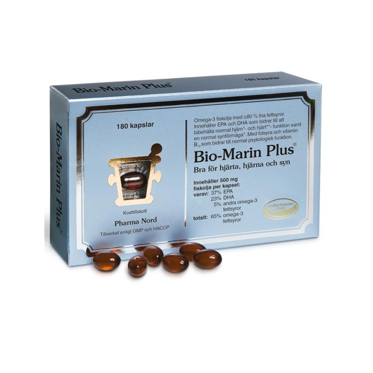 Pharma Nord Bio-Marin Plus, 180 kapslar