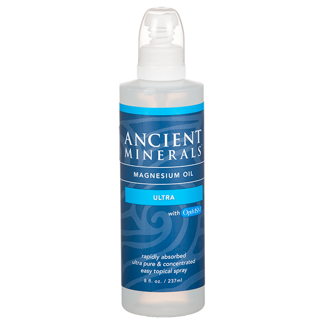 Ancient Minerals Magnesiumolja Ultra Spray, 118ml