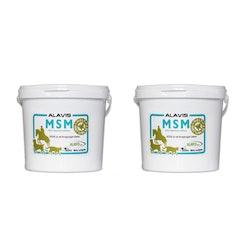 Alavis MSM 2 kg (Dubbelpack)