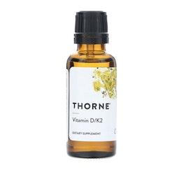 Thorne Vitamin D/K2 flytande, 30ml