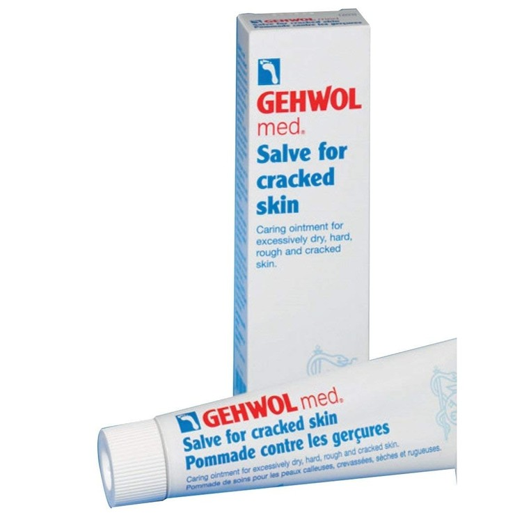 Gehwol Salve Cracked Skin för Sprucken Hud, 125ml