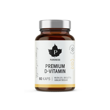 Pureness Premium D-Vitamin, 60 kapslar