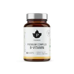Pureness Premium Complex B-Vitamin, 60 kapslar