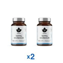 Pureness Trippel Magnesium, 120 kapslar