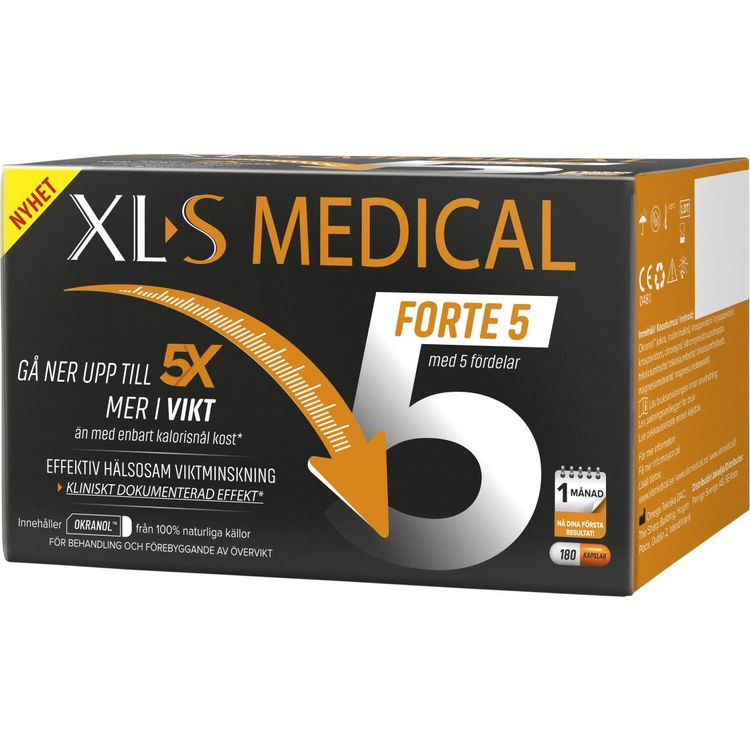 XLS Medical Forte 5, 180 kapslar