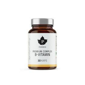 Pureness Premium Complex B-Vitamin, 30 kapslar