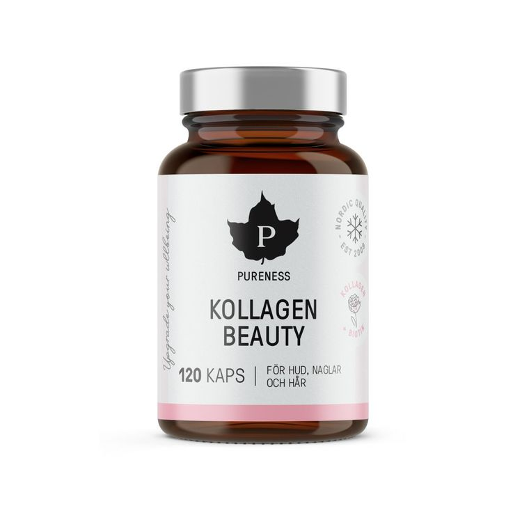 Pureness Kollagen Beauty, 120 kapslar