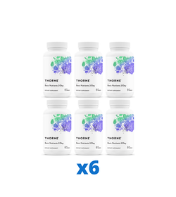 6 x Thorne Basic Nutrients 2/Day, 60 kapslar