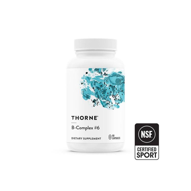 Thorne B-Complex #6, 60 kapslar