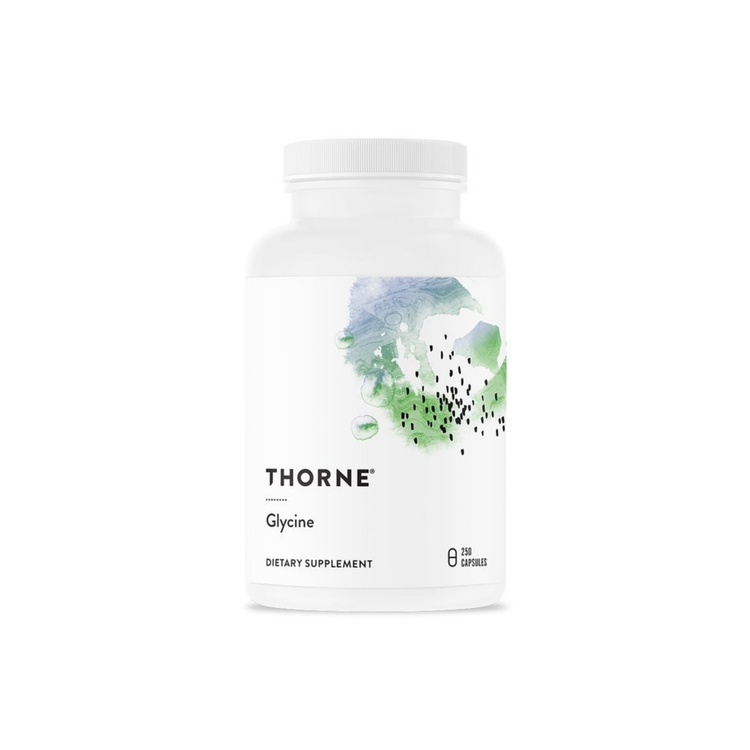 Thorne Glycine 500 mg, 250 kapslar