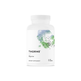 Thorne Glycine 500 mg, 250 kapslar