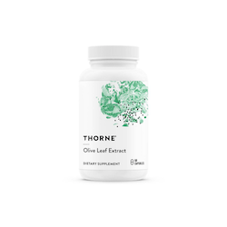 Thorne Olive Leaf Extract, 60 kapslar