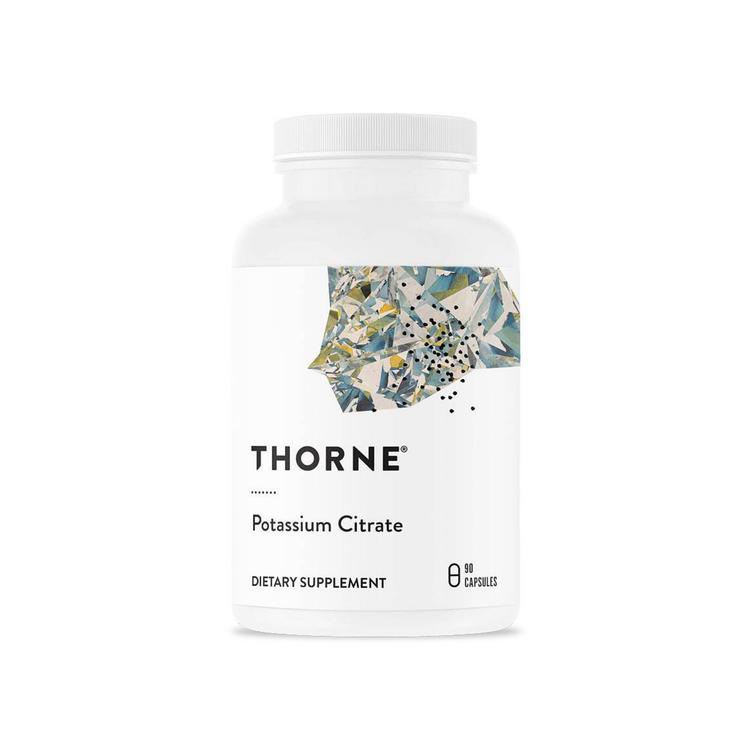 Thorne Potassium Citrate, 90 kapslar