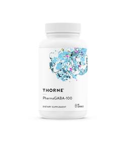 Thorne PharmaGABA 100mg , 60 kapslar
