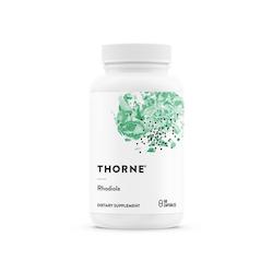 Thorne Rhodiola rosea, 60 kapslar
